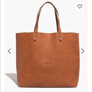 Madewell Tan Transport Tote in V. Good Condition